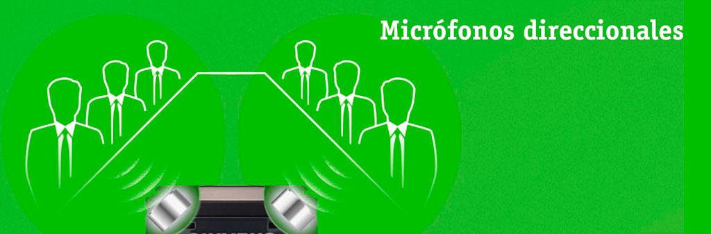 Micrófonos direccionales