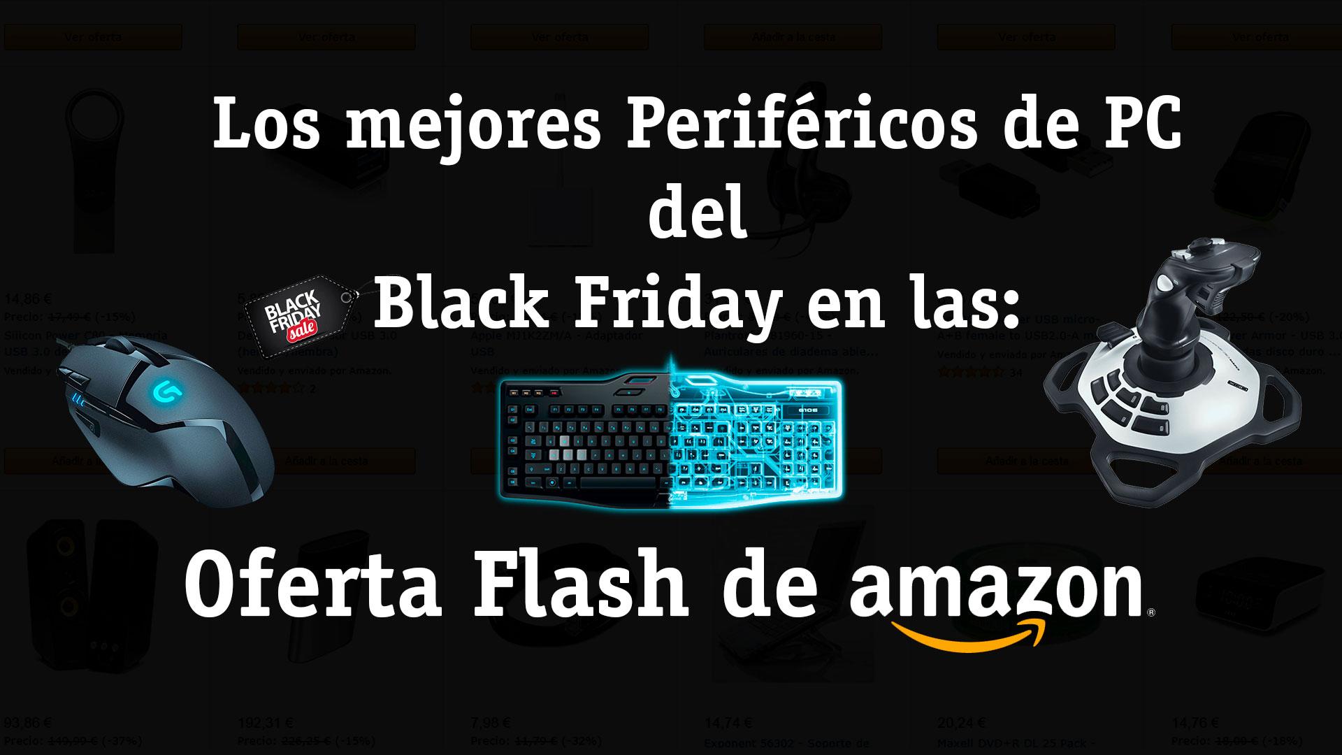 Periféricos para PC en oferta flash de Amazon