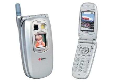 El primer móvil con cámara fue el SPC-5300 de Sanyo