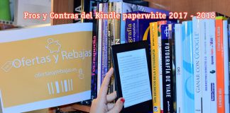 kindle paperwhite pros y contras