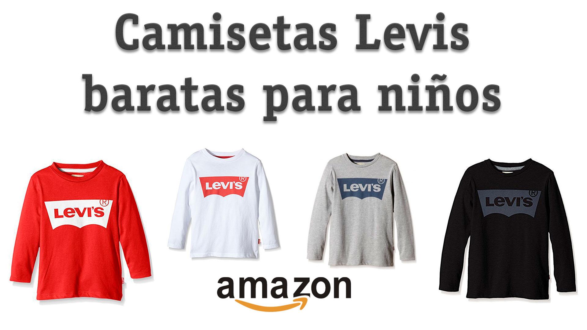 1191f8667 Camisetas Levis baratas para niños en Amazon 13