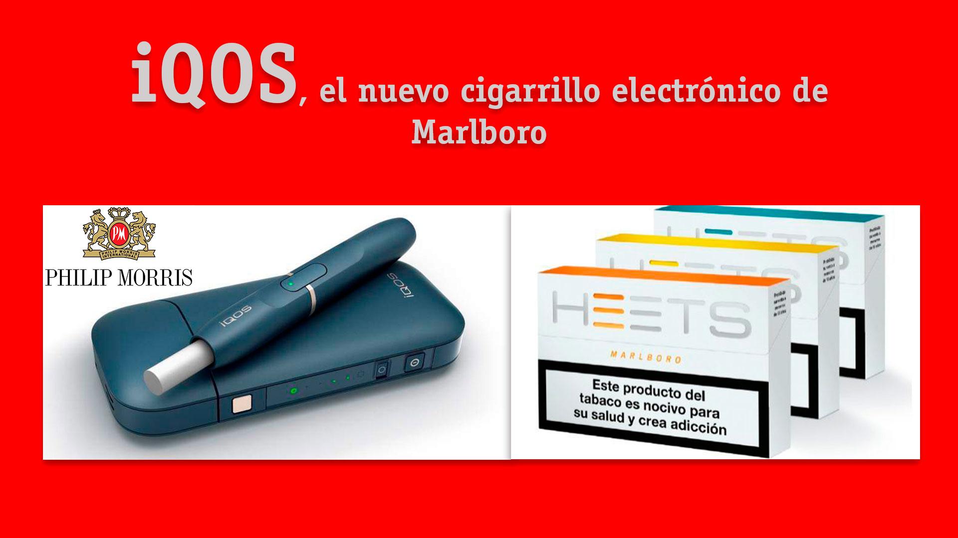 Cigarrillo Electrónico Iqos Heets Marlboro Nuevo Tabaco