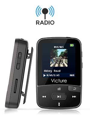 142aebd23 Top 4 mejores «【 MP3 con Radio FM 】» + Guía de compra ♫♪