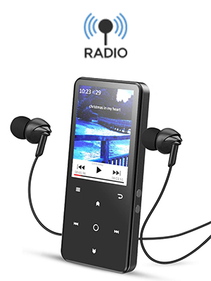 MP3 con radio AGPTEK- A02