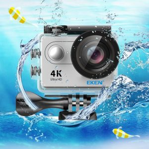 EKEN H9R-mejor cámara acuática
