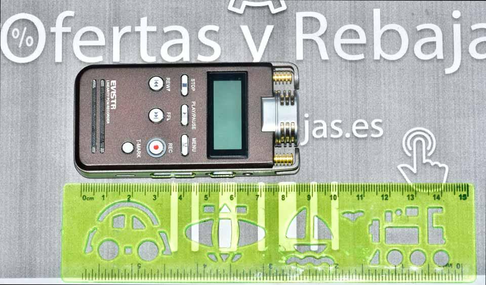 Grabadora de voz EVISTR L53 | Análisis y vídeo review 🎙 🎛️