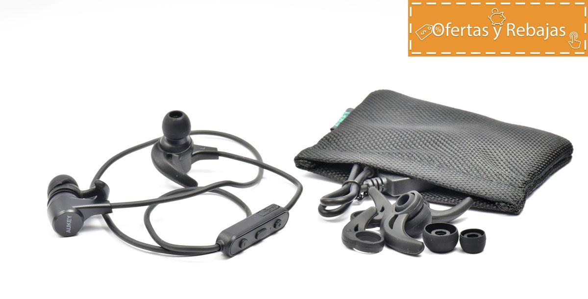 687e7cd7e96 Auriculares Bluetooth Aukey EP-B40 Magnéticos | Análisis objetivo 🏃🎧