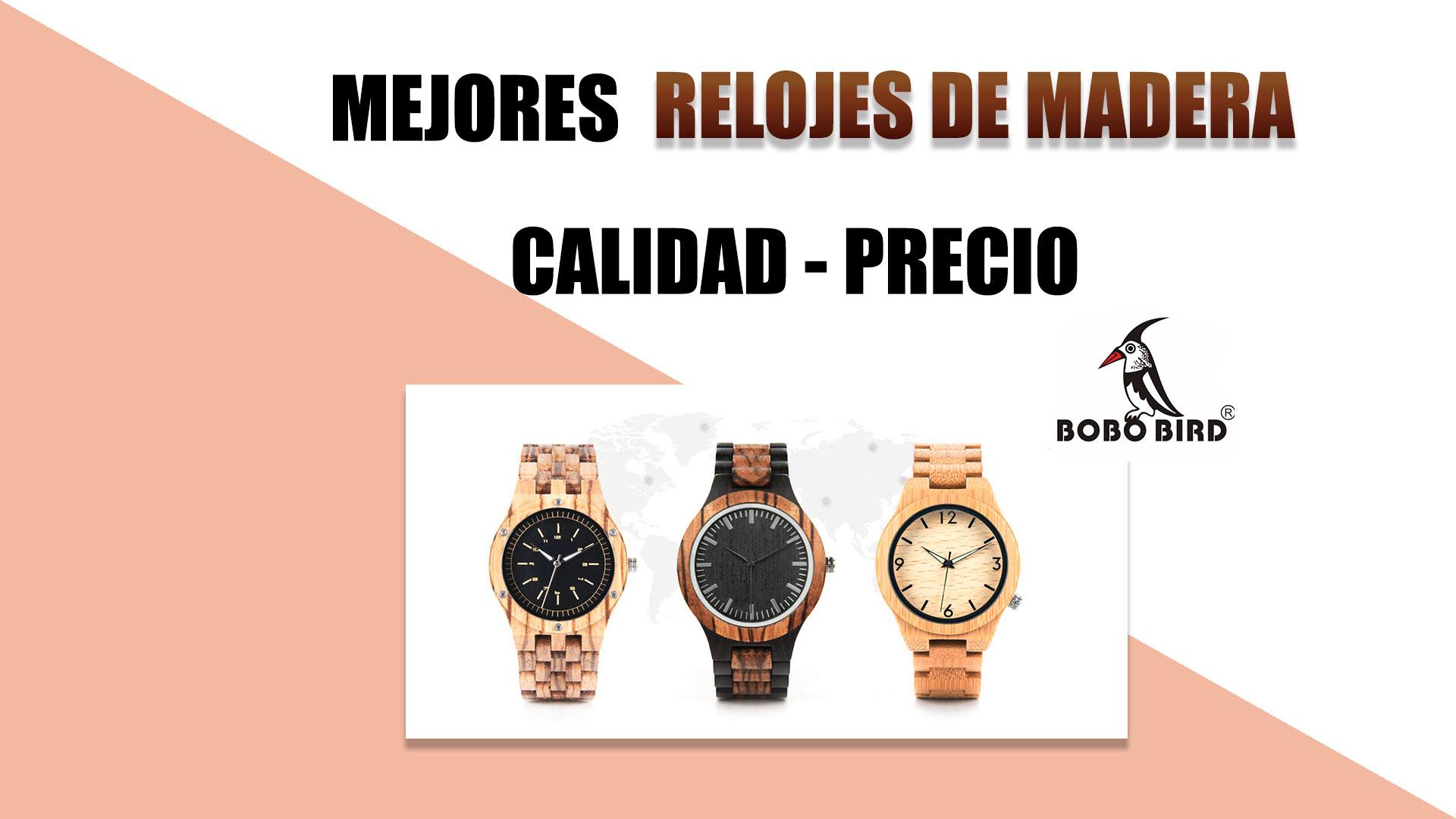 68edb8448ff6 Top mejores relojes de madera calidad precio de la actualidad  vídeo ...