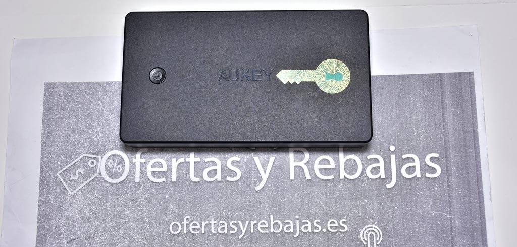 Aukey PB-N36Bateria Externa 20000mAh con Entrada Lightning y Micro USB