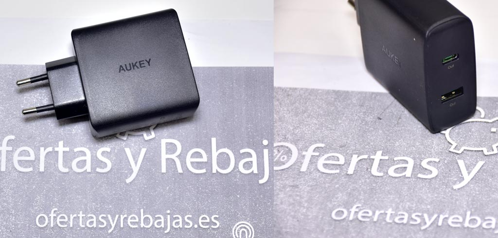 AUKEY USB C Cargador de Red con 46W Power