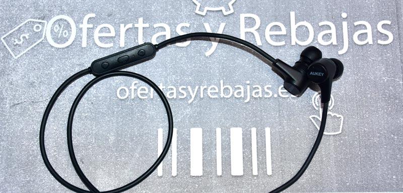 Auriculares Bluetooth Magnéticos Aukey EP-B40