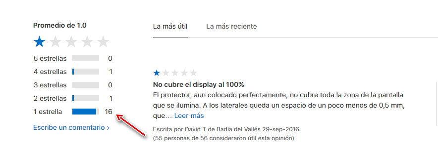Protector de pantalla oficial para el iphone 8