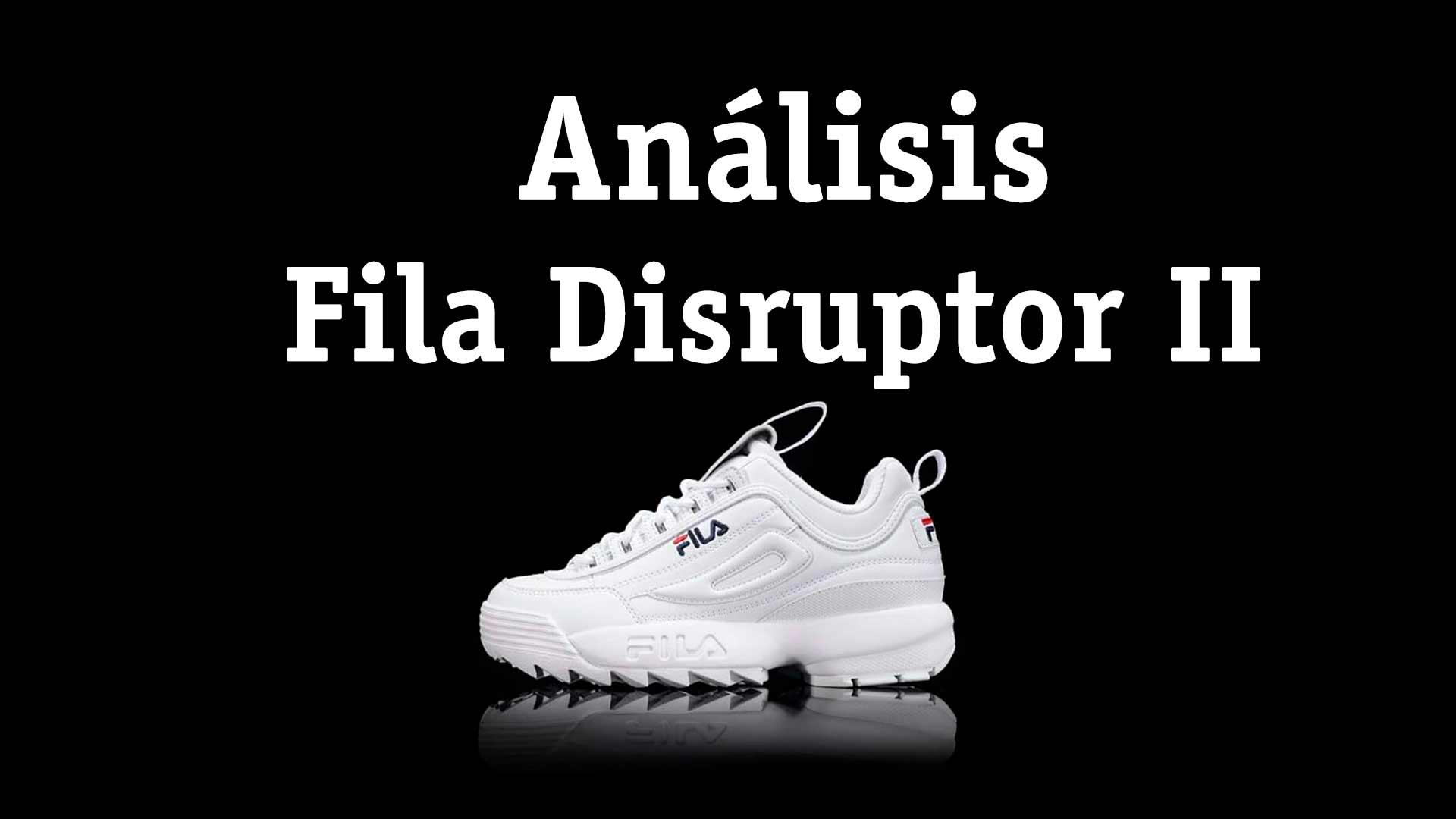 2de0efd402e 👟 Zapatillas Fila Disruptor II Blancas » Análisis