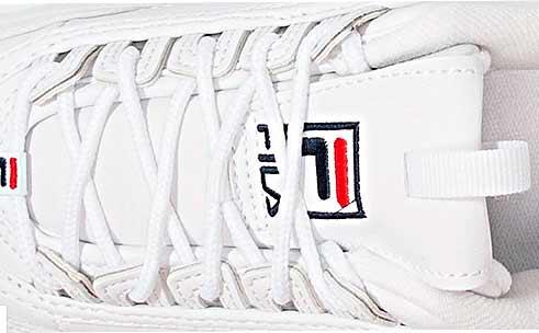 Parte delantera de las zapatillas fila disruptor II