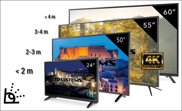 Dónde comprar televisores TD Systems con la mejor oferta