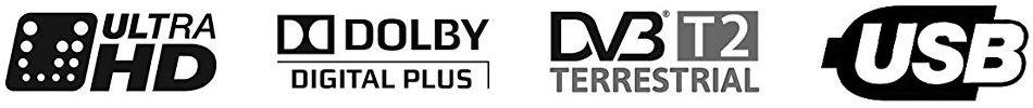 Principales atributos de la TV UHD K55DLM8U de TD Systems