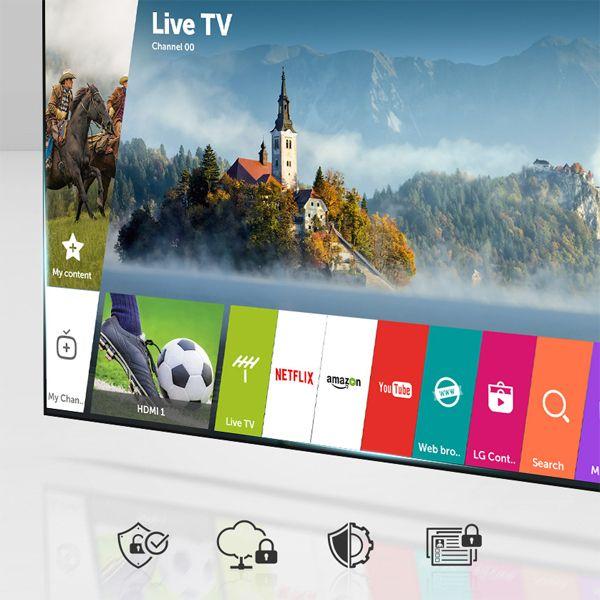 Principales características de la TV LG 55UJ651V