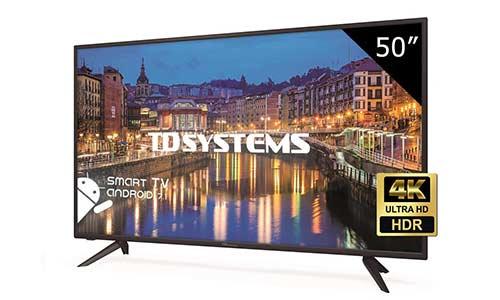 TD Systems K50DLH8US Tv Led 50
