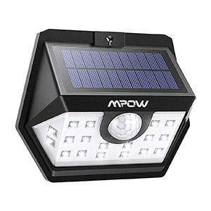 Mpow Lámpara Solar 20 LED