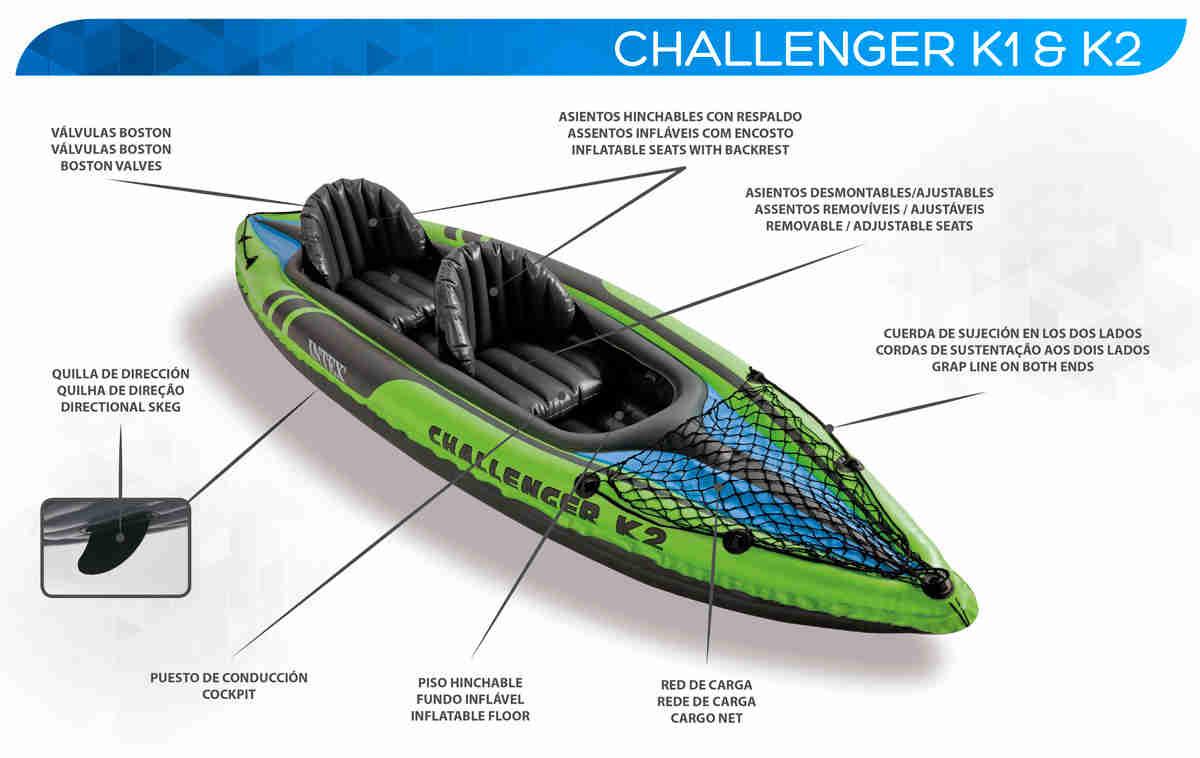 Kayak-challenger-k1-k2