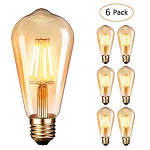 Bombilla LED E27 Edison Vintage