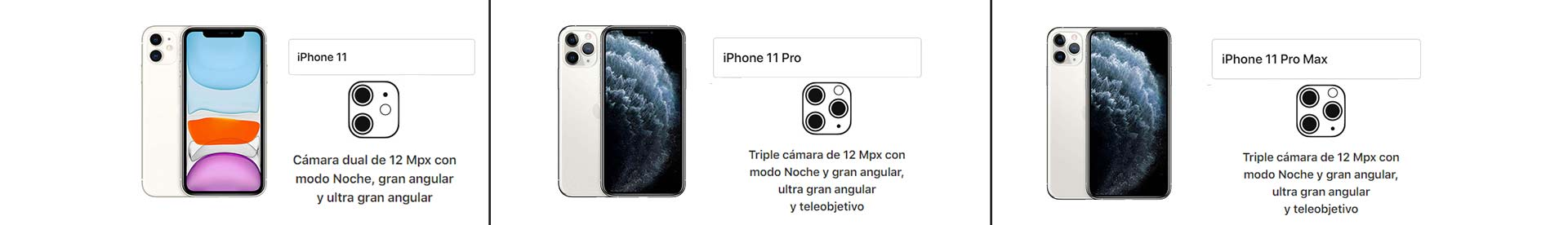 Diferencias-entre-las-cámaras-del-nuevo-iPhone-11