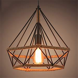 Lámpara tipo industrial retro
