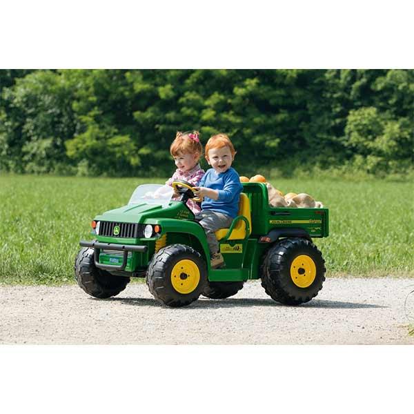 Tractor eléctrico de 2 plazas