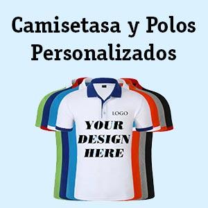 Camisetas y polos personalizados