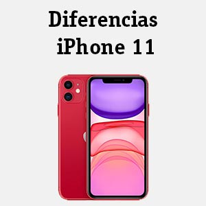 Diferencias iPhone 11
