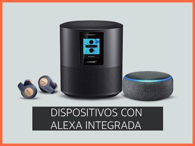 Dispositivos con Alexa integrada