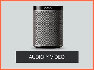 Dispositivos de audio y video compatibles con Amazon Alexa