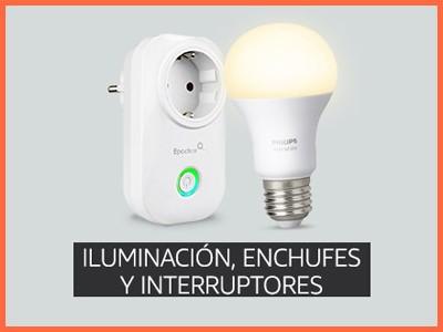 Iluminación, enchufes e interruptores compatibles con Amazon Alexa