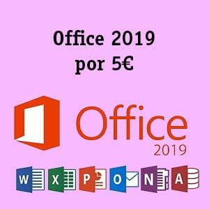 Office 2019 por 5e