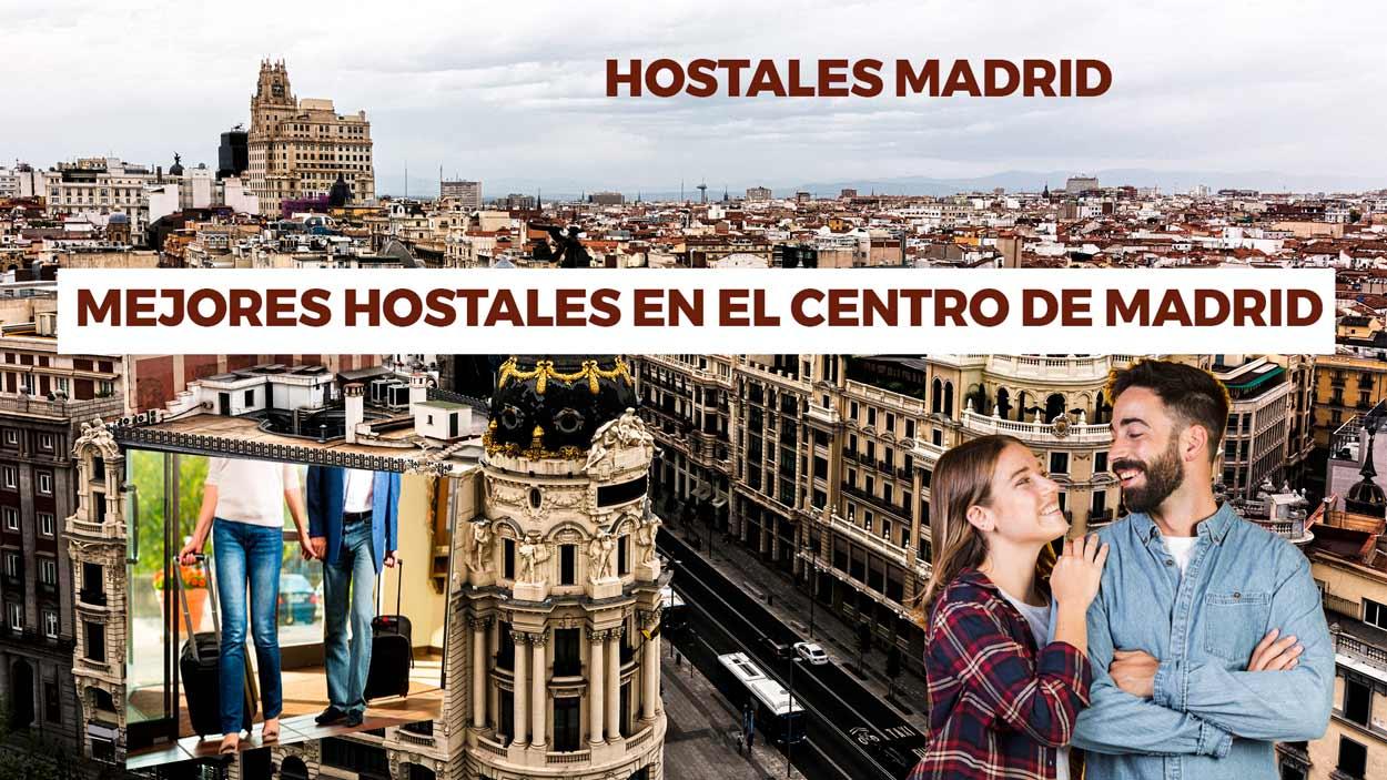 Mejores hostales en el centro de Madrid