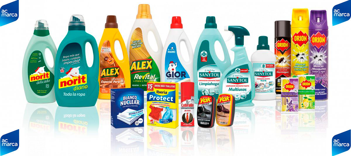 Productos de la marca AC MARCA