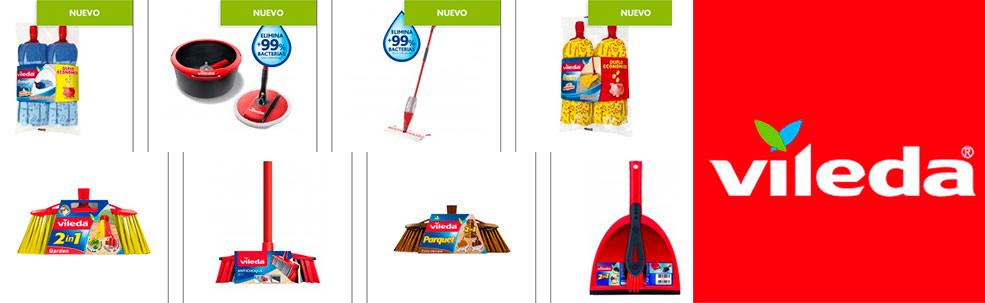 Productos de la marca Vileda