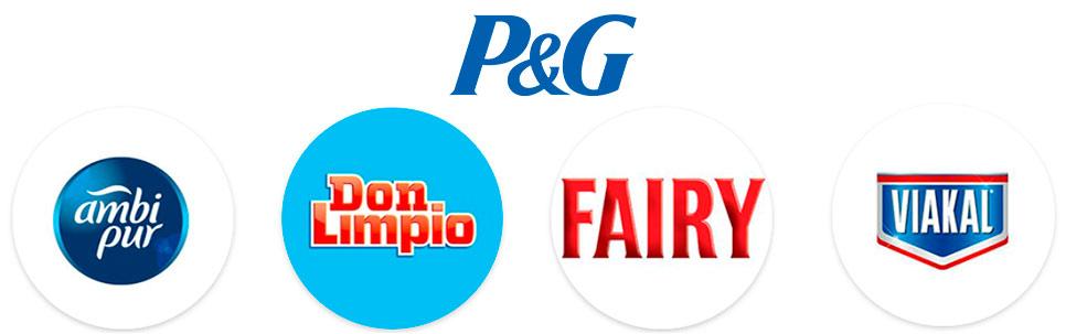 Productos de limpieza del hogar de Procter & Gamble