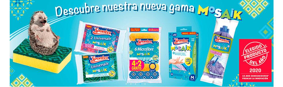 Productos de limpieza marca Spontex