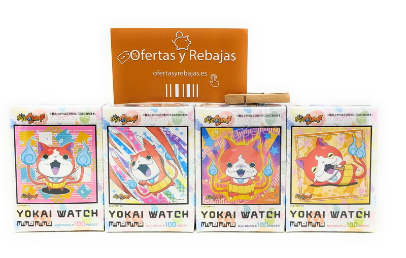 100 pieza espectro rompecabezas mini ver Jibanyan Chocobo sobre Nyan (10x10cm)