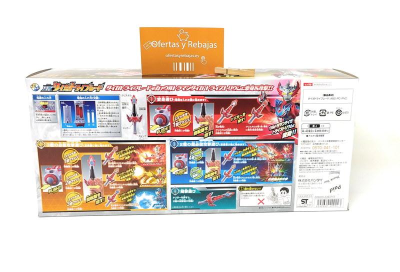 Oferta Ultraman Taiga DX Taiga Tri-Blade