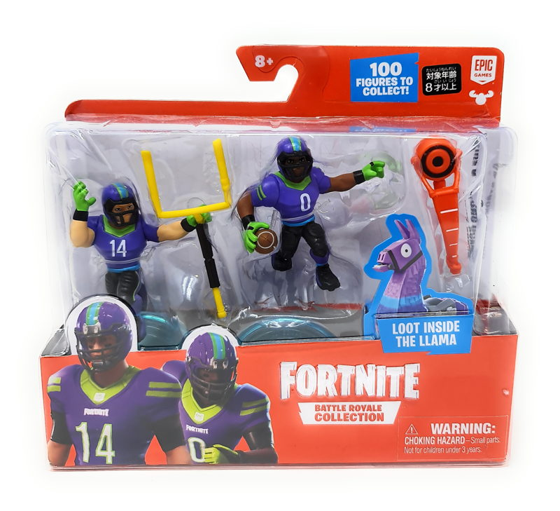 Fortnite Battle Royale Collection Duo Pack- Spike and Strong Guard