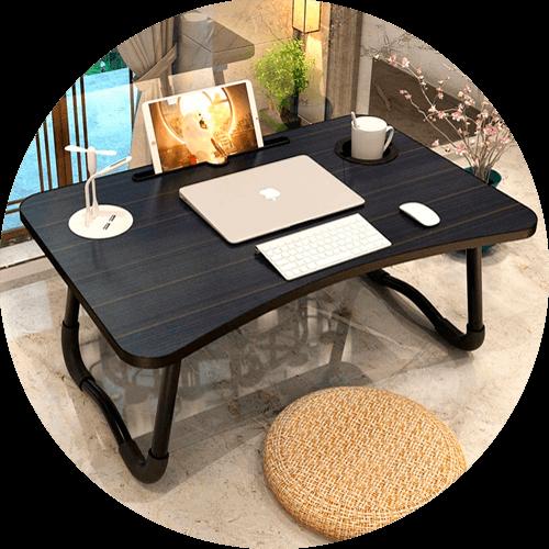 Mesa de cama para portátil Elekin