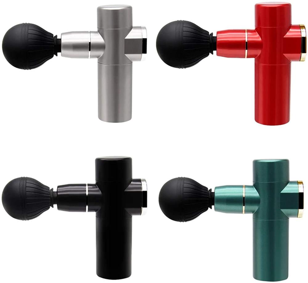 Pistola de masajes con vibración - 4 colores